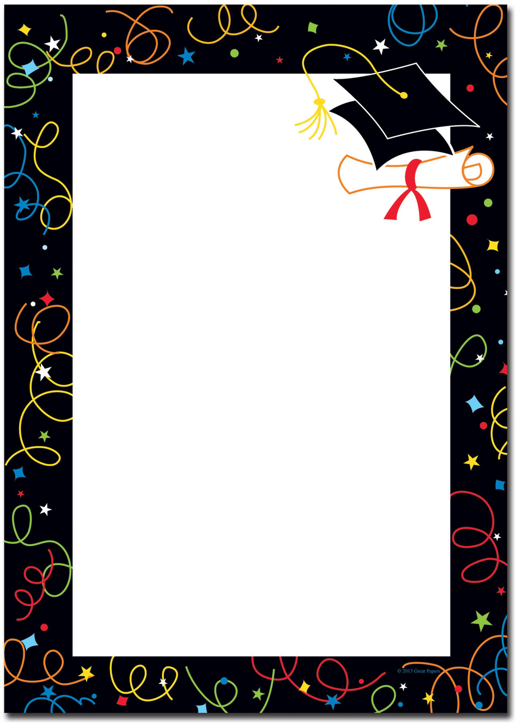 Designer Invitation Paper, Holiday Stationery, Theme Letterhead Paper - Image Shop