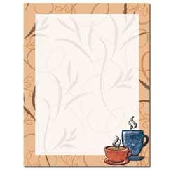 Coffee Break Letterhead