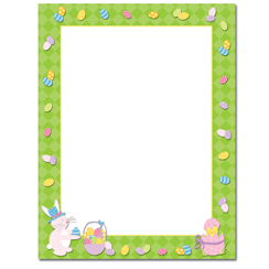 Easter Time Letterhead