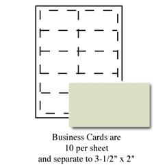 Executive Green Business Cards
