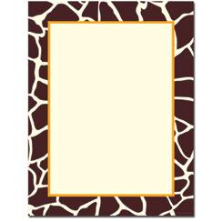 Giraffe Letterhead
