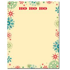Ho Ho Ho Letterhead