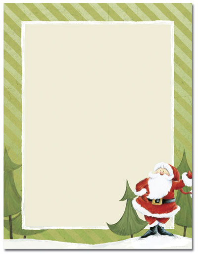 Home / Manufacturers / Great Papers / Jolly Santa Claus Letterhead