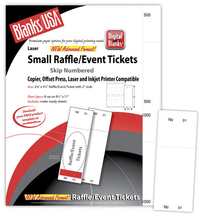 Small Raffle Tickets, Bristol