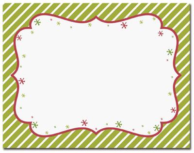 Blank Christmas Party Invitations | Christmas Holiday Invitations ...