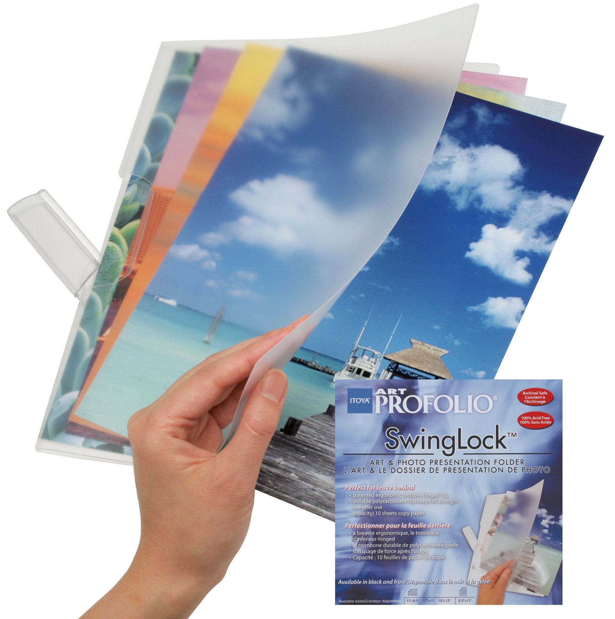 """SwingLock Folder, Frost, 8.5"""" x 11"""""""