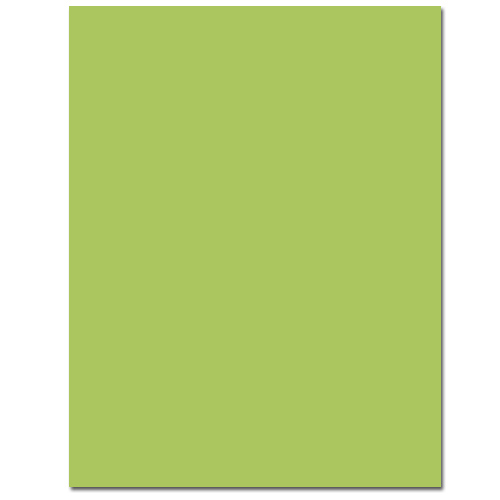 Sour Apple Cardstock